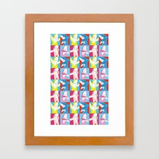 Left Shark Pop Art Framed Art Print