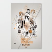 SPURS Tribute - Parker G… Canvas Print