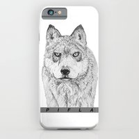 iPhone & iPod Case featuring Wolfy by Pifla