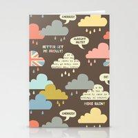 Rainy London Stationery Cards