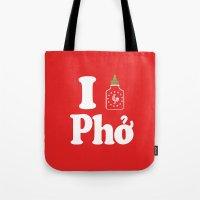 I Heart Pho Tote Bag