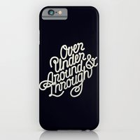 iPhone & iPod Case featuring Over Under Around & Through by David McLeod