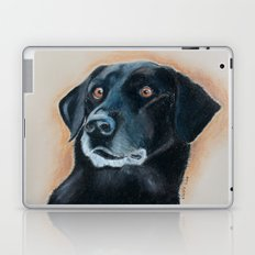 Nutter. A black lab Laptop & iPad Skin