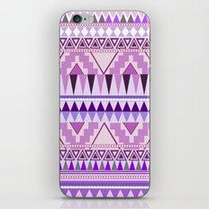 Aztec; Purple Dreams iPhone & iPod Skin