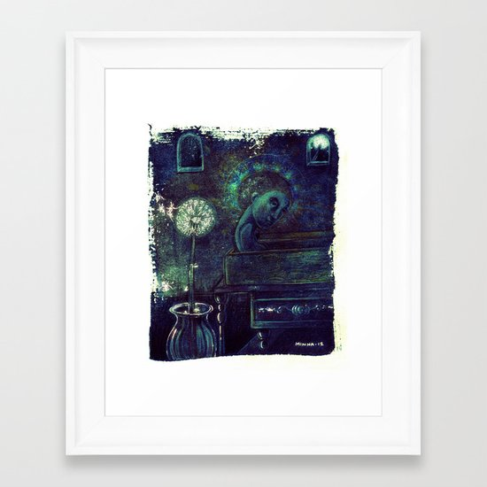 Grow Old Wisely! Framed Art Print