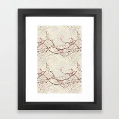 Branched Framed Art Print