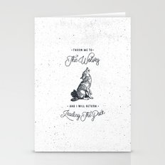 WOLF #BLUE Stationery Cards