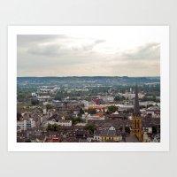 Bonn, Germany. Art Print