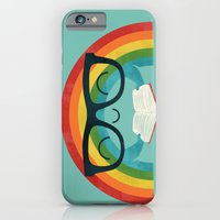iPhone Cases featuring Brainbow by Jay Fleck