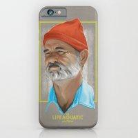 Steve Zissou Life Aquatic  iPhone 6 Slim Case
