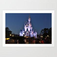 Cinderella's Castle II Art Print