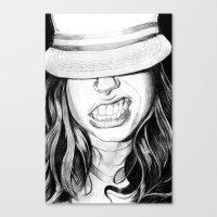 Cabrallin' Canvas Print