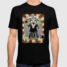 Conjoined in the Morning Black SMALL Mens Fitted Tee