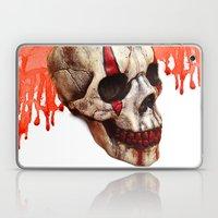Circus Clown Skull Laptop & iPad Skin