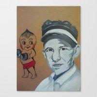 Bert Grimm Canvas Print
