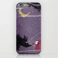 Little Red and Wolf iPhone 6 Slim Case