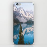 Lake Moraine Dos iPhone & iPod Skin