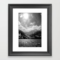Convict Lake, CA Framed Art Print