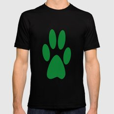 Paw Black Mens Fitted Tee SMALL