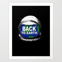 Back to Earth Art Print