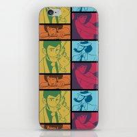 Lupin III Jazz Record iPhone & iPod Skin