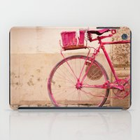 Lady in Pink iPad Case