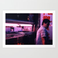 Prince Edward - Fish Markets Art Print