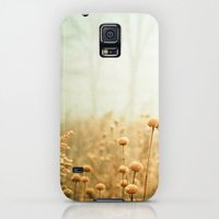Galaxy S5 Cases featuring Daybreak in the Meadow by Olivia Joy StClaire