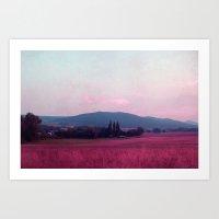 Small Mountains Art Print