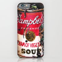 iPhone & iPod Case featuring Cream of Vegetable by Daryll Peirce