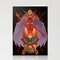 The Baphomet Stationery Cards