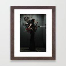 Madame Cinematic Framed Art Print