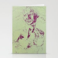 Not A David Bust Print Stationery Cards