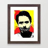 TRUE CRIME: Ted Bundy Framed Art Print