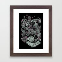 Irregular Sleeping Pattern Framed Art Print