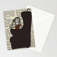 Detective Monkey Stationery Cards