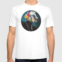 Wonderland Mens Fitted Tee White SMALL