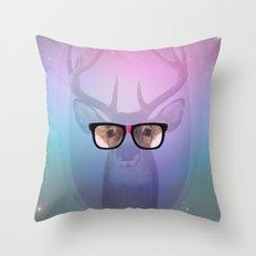 My deer Geek Throw Pillow