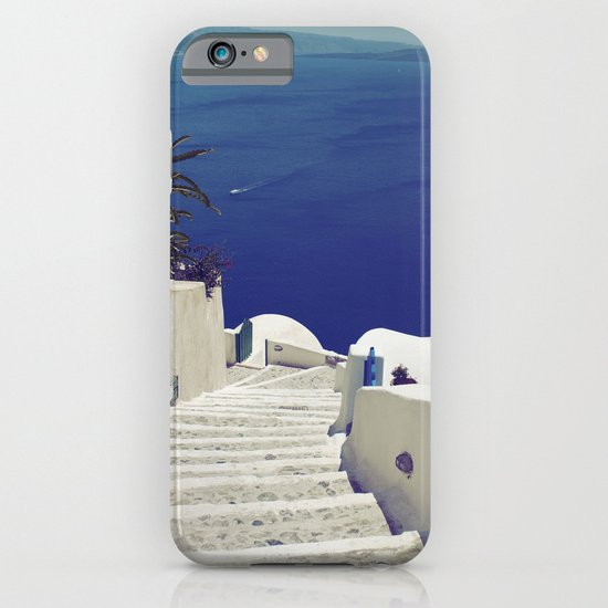 Santorini Stairs II iPhone & iPod Case