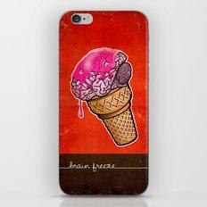 Brain Freeze! iPhone & iPod Skin