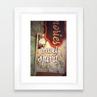 Travel Spirit #2 Framed Art Print
