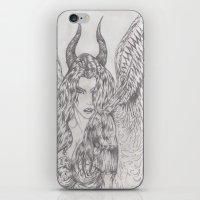 angel or demon iPhone & iPod Skin