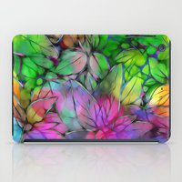 Dream Colored Leaves iPad Case