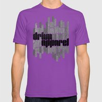 Drivn Apparel, Leaves 18… Mens Fitted Tee Ultraviolet SMALL
