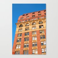 Complimentary Colours Canvas Print