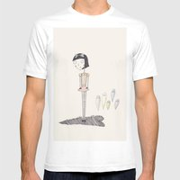 Ghost Candy. Mens Fitted Tee White SMALL