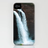 iPhone 4s & iPhone 4 Cases featuring Waterfall by Vikki Skye