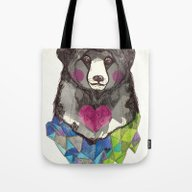 Bear Yeah Tote Bag