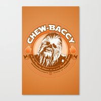 Chew-Baccy (Wookie Chewing Tobacco) Canvas Print