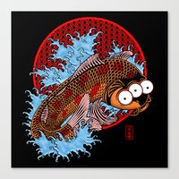 Blinky Canvas Print